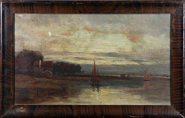 Paintings, Sailing Boats at Dusk