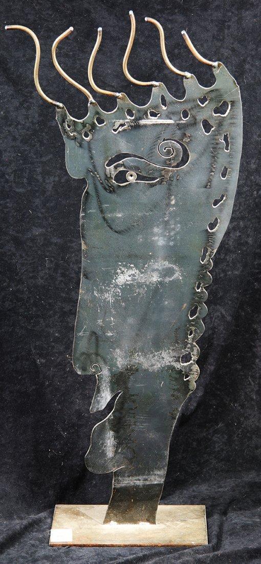 Crazy Hair, Steel Sculpture