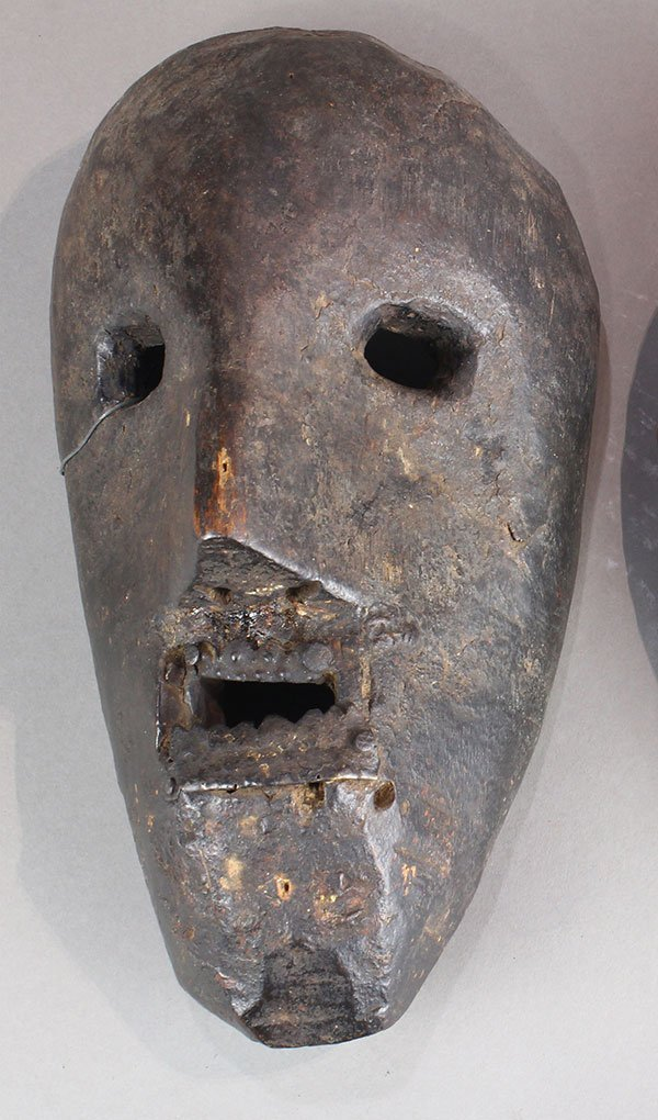 Himalayan mask, Nepal, probably 19th century, of an