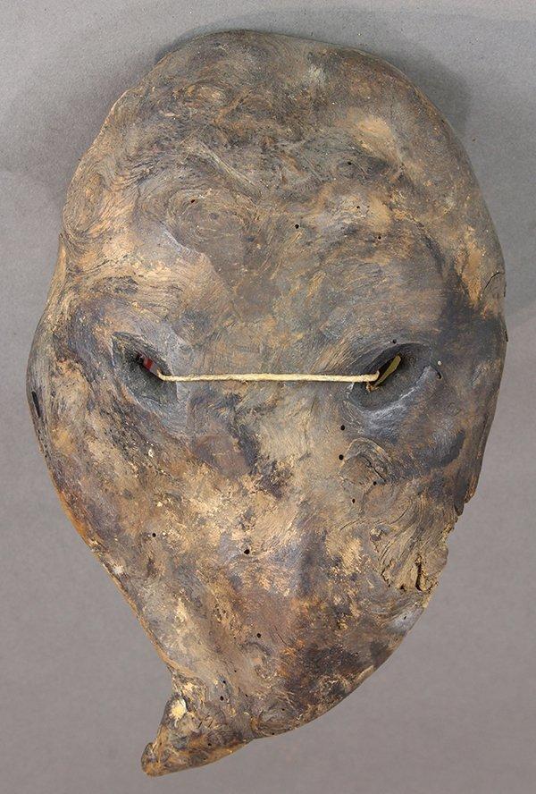 Himalayan mask, Nepal, small, age and use uncertain,