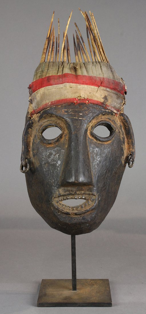 Himalayan mask, Nepal, 20th century, and of uncertain