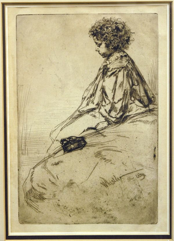 6485: Etching, J.A.M. Whistler, American