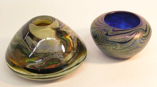 4019: Art glass vase