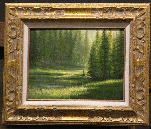 4031: Oil, Redwoods, Vercinsky, Californian