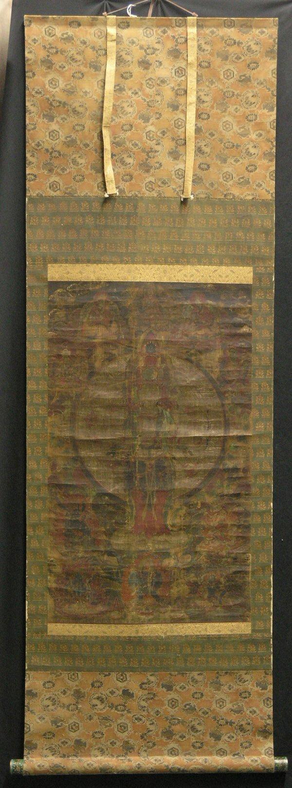 4344: Sino-Tibetan Thangkas, hanging scrolls