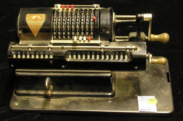 4500: Vintage Marchant hand crank calculator