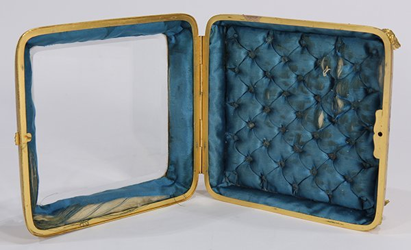 Continental gilt and champleve decorated jewelry casket - 2