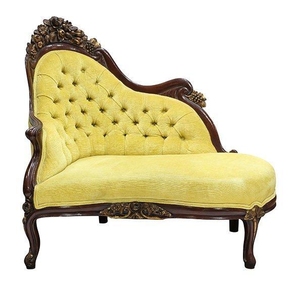 Rococo Revival recamier attributed J