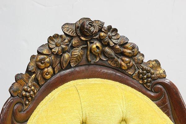 Rococo Revival recamier attributed J - 6