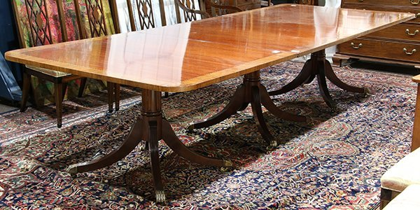 Regency style dining table - 2