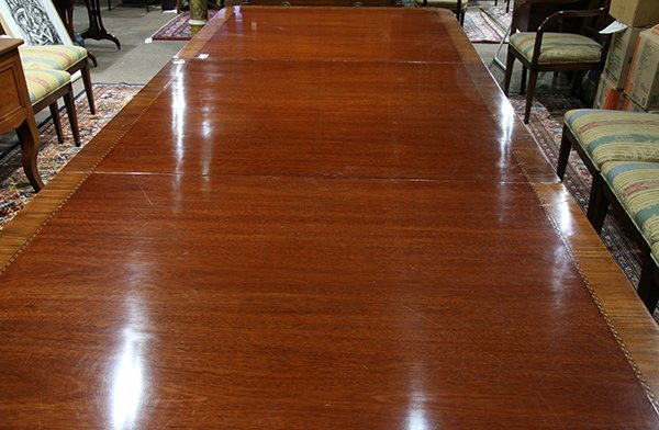 Regency style dining table - 3