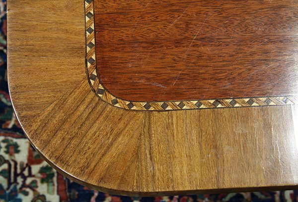 Regency style dining table - 4