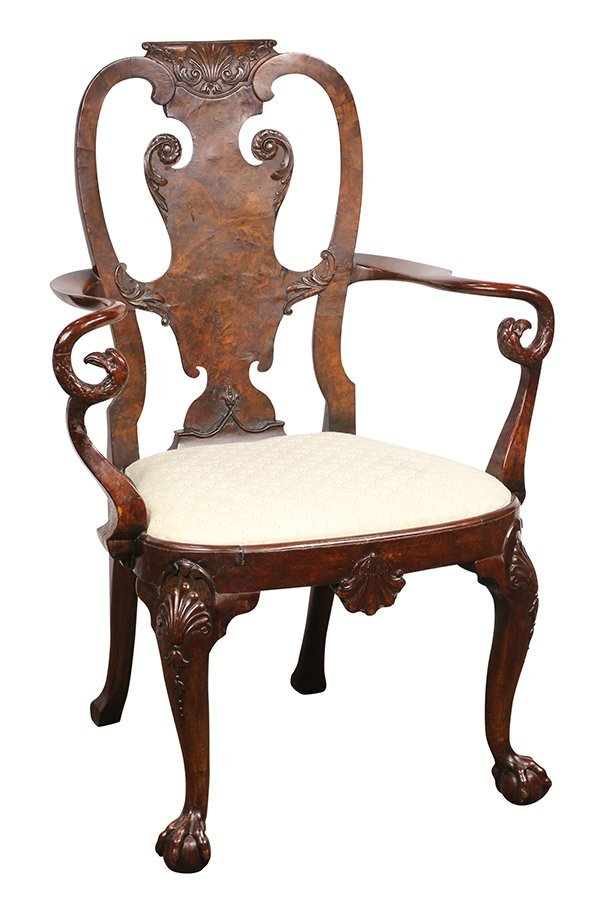(lot of 2) George III armchairs - 2