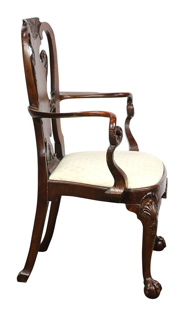 (lot of 2) George III armchairs - 3