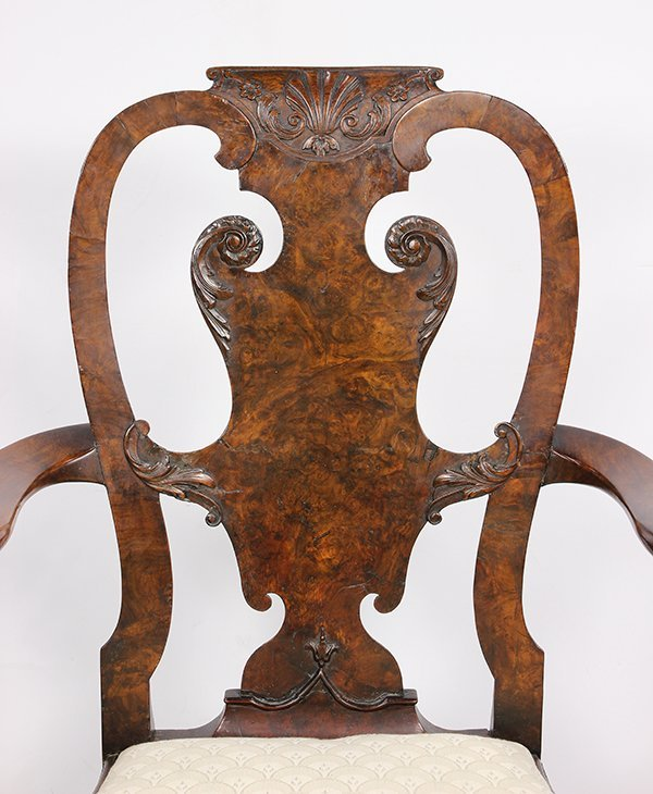 (lot of 2) George III armchairs - 5