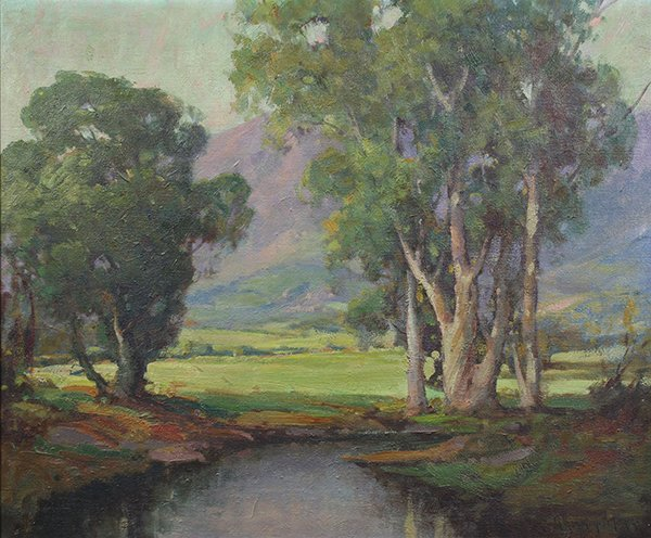 George Thompson Pritchard painting
