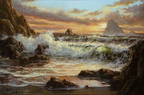 Robert Wee painting