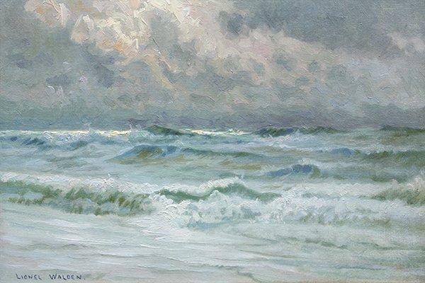 Lionel Walden painting