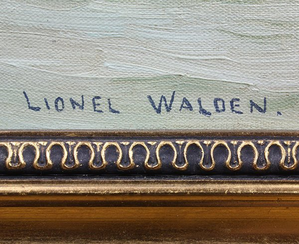 Lionel Walden painting - 3