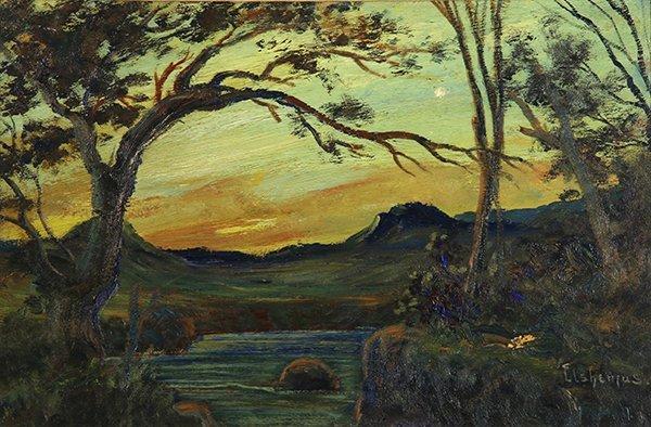 Louis Michel Eilshemius painting