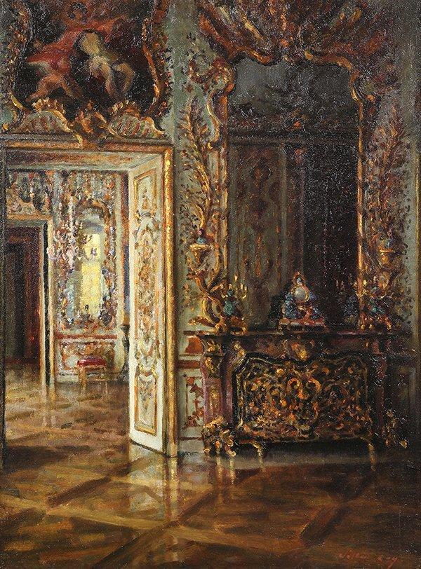Walter Gay painting