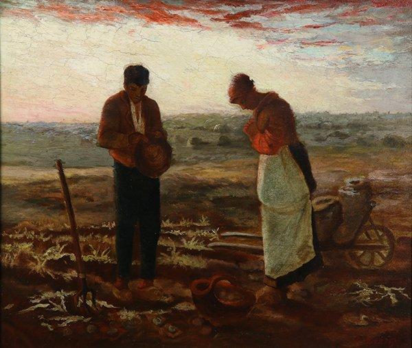 Josef Israels, painting
