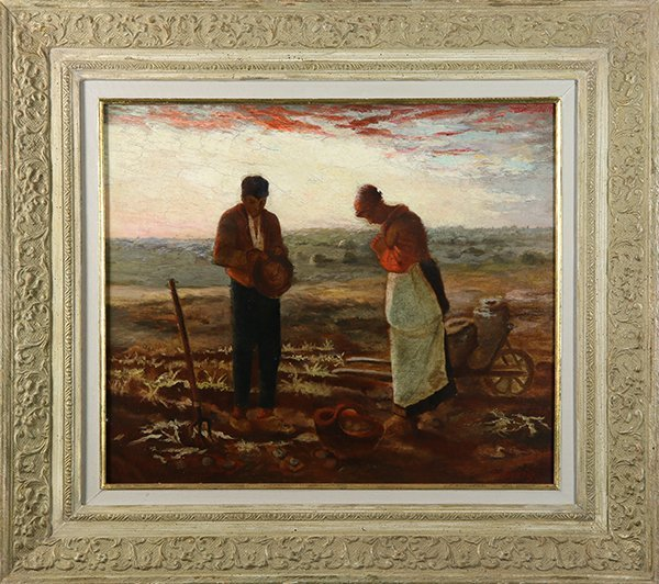 Josef Israels, painting - 2