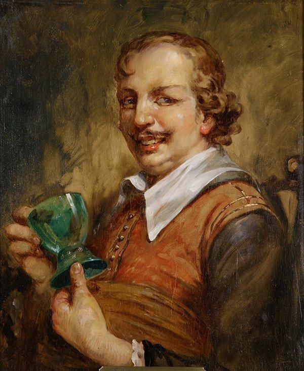 Ecole de Frans Hals painting