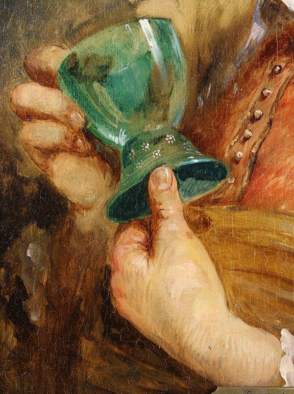 Ecole de Frans Hals painting - 4