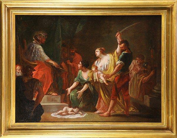 Wisdom of King Solomon, painting - 2