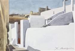 Christoforos Asimis watercolor