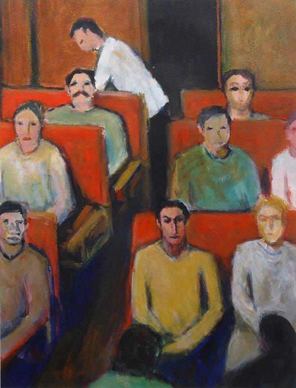 Alan Post, painting