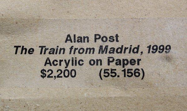 Alan Post, painting - 5