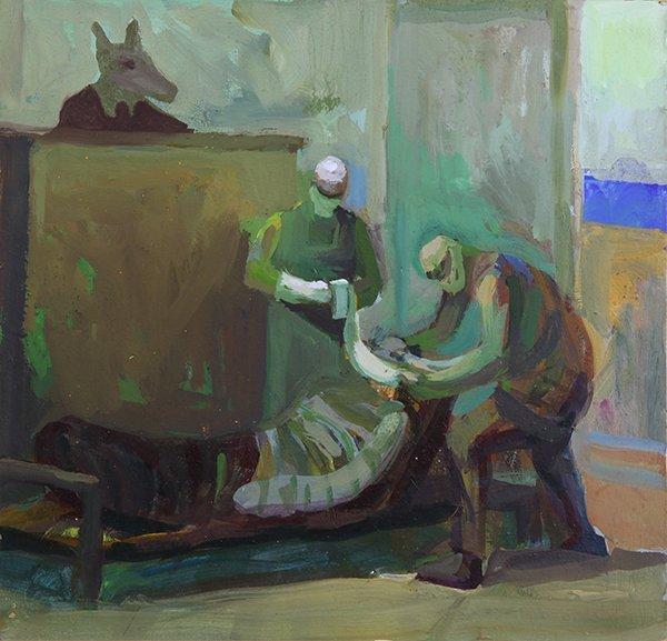 James Weeks, painting
