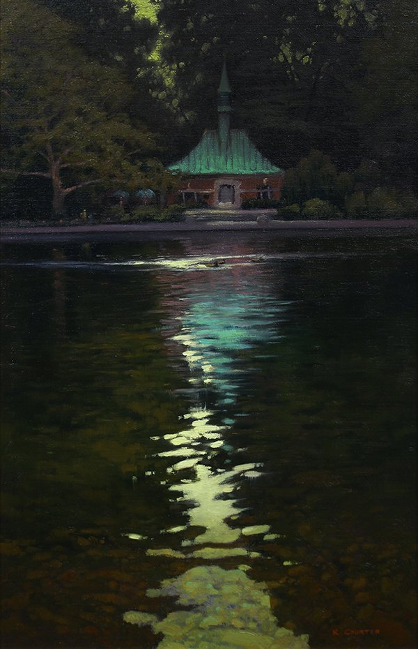 Kevin Courter painting