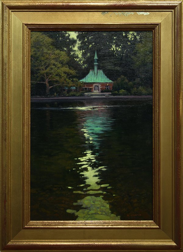 Kevin Courter painting - 2