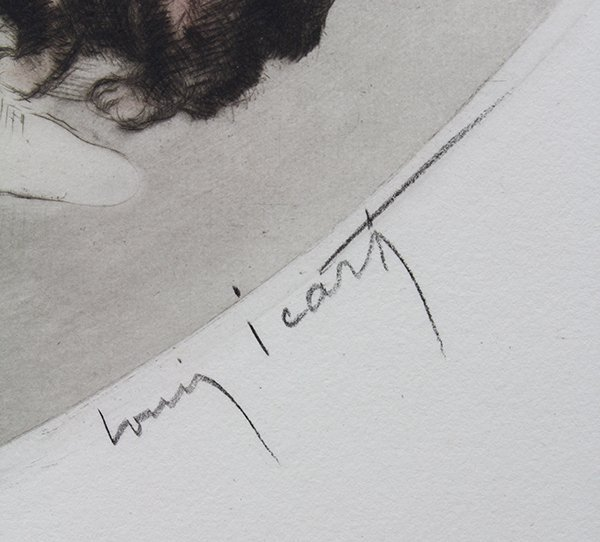 Print, Louis Icart, Spilled Milk - 2