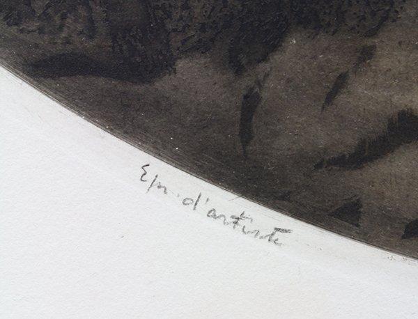 Print, Louis Icart, Spilled Milk - 3