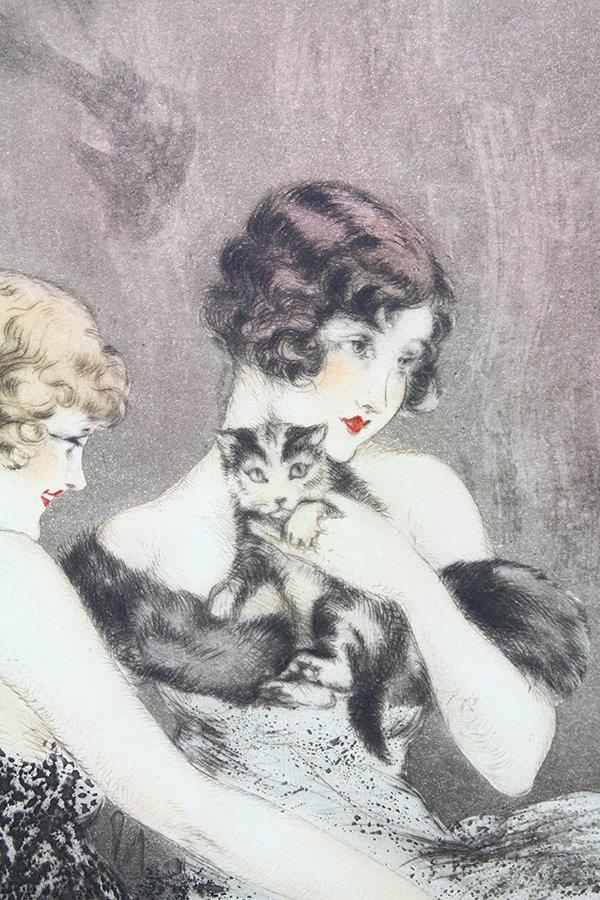Print, Louis Icart, Spilled Milk - 4