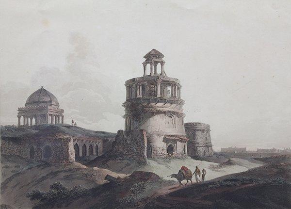 Print, Thomas Daniell and William Daniell