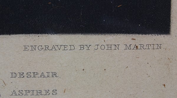 Print, John Martin, Satan in Council - 3
