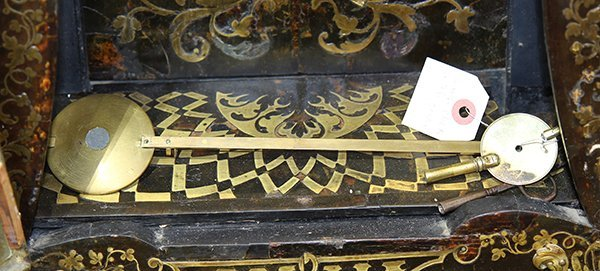 Monumental Louis XV boulle style inlaid and ormolu - 4
