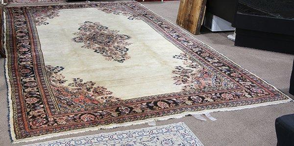 Persian Hamadan carpet, 9'2'' x 17'