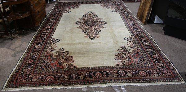 Persian Hamadan carpet, 9'2'' x 17' - 2