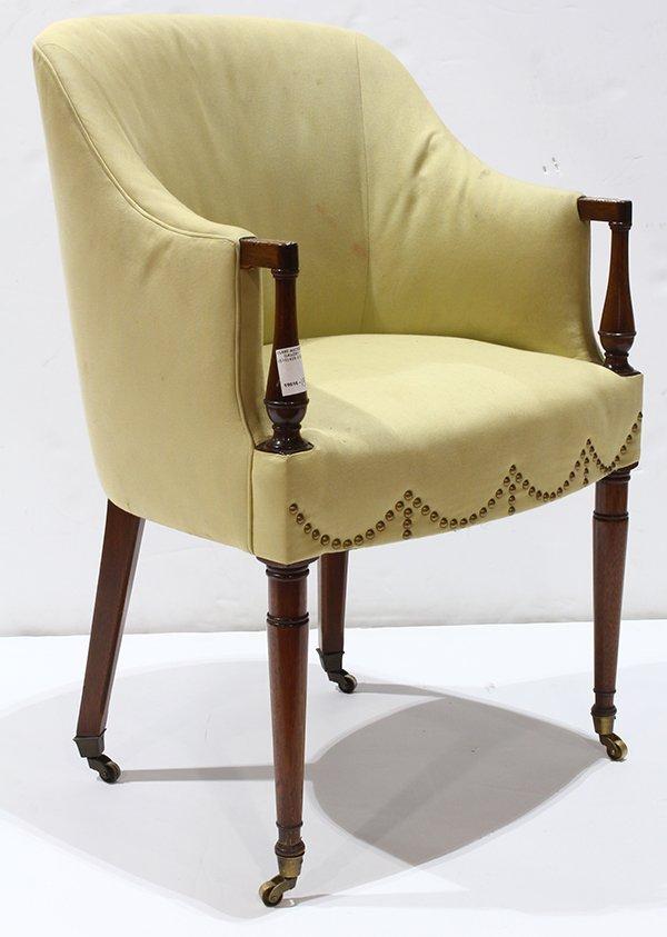Art Deco style club chair - 2