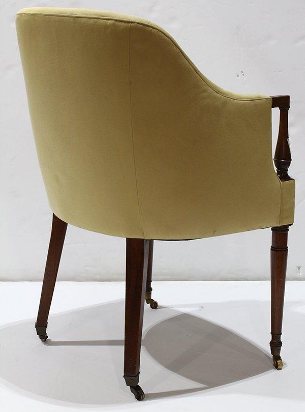Art Deco style club chair - 3