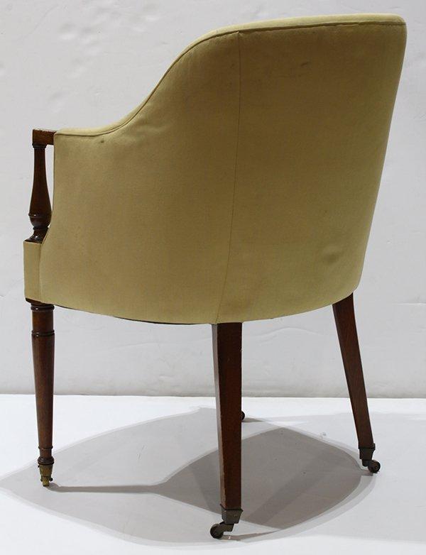 Art Deco style club chair - 4