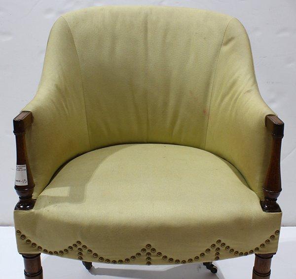 Art Deco style club chair - 5