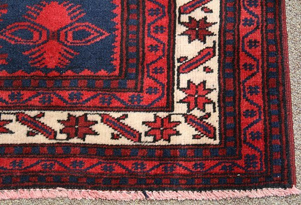 "Persian Belouch carpet, 6'4"" x 3'9"" - 2"