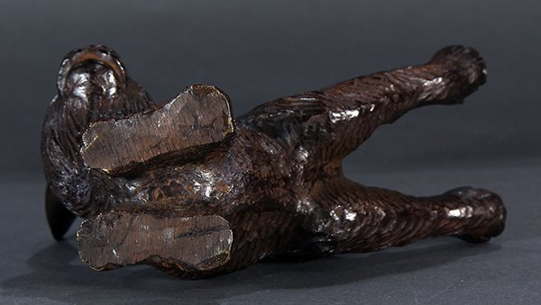 Japanese Bronze Okimono, Leaping Hare - 7